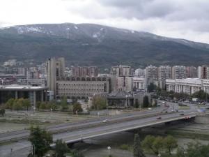 Скопје, Македонска пошта, мост Гоце Делчев