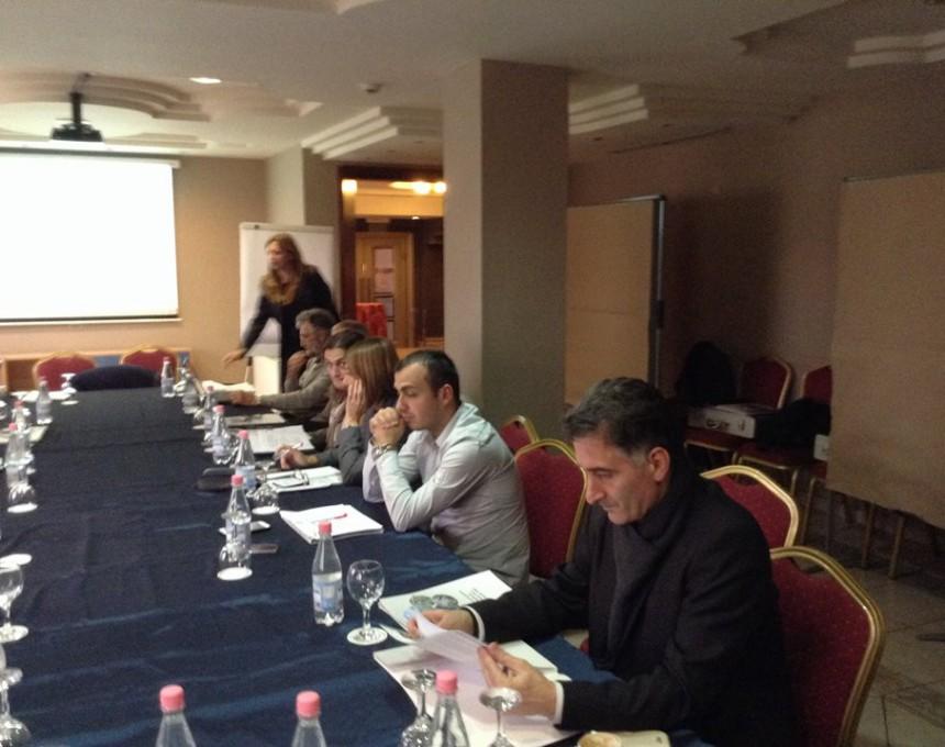 Планирачка работна средба на Германското друштво за меѓународна соработка (ГИЗ), посветена на зафатите од втората фаза на проектот за заштита на езерата во Дримскиот басен – Охридско, Преспанско и Скадарско Езеро