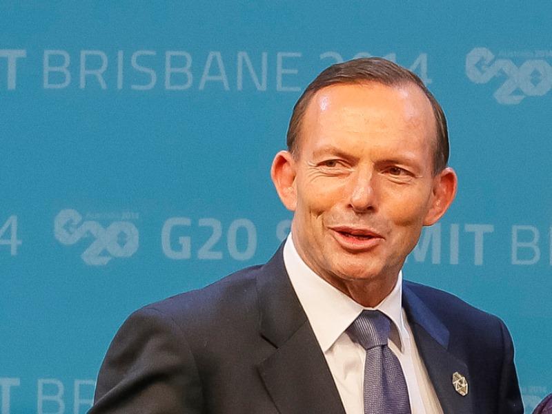Тони Абот, премиер на Австралија