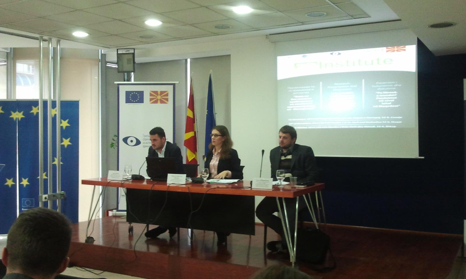 """Истражувањето """"Бива ли без книшка: вработувања во локалната администрација во Македонија"""" го спорведе ЗИП Институт за локална самоуправа и неформално образование"""