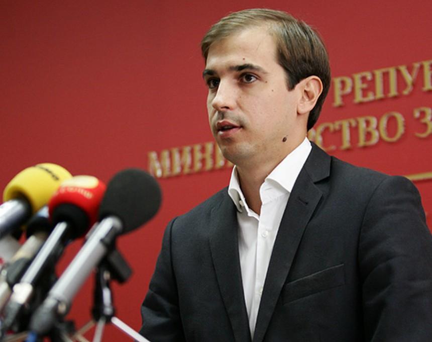 Министер за труд и социјална политика, Диме Спасов