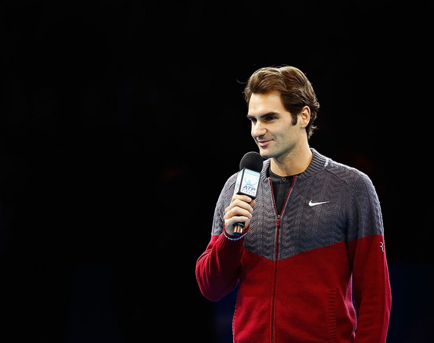 Рожер Федерер и се извини на публиката што го откажа финалето