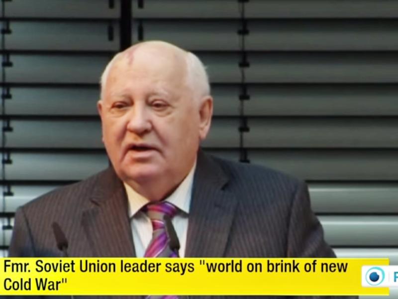 Михаеил Горбачов