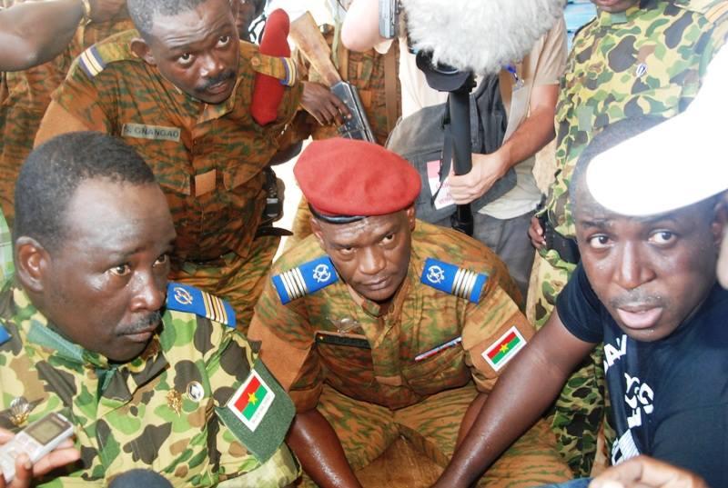 Државен удар во Буркина Фасо