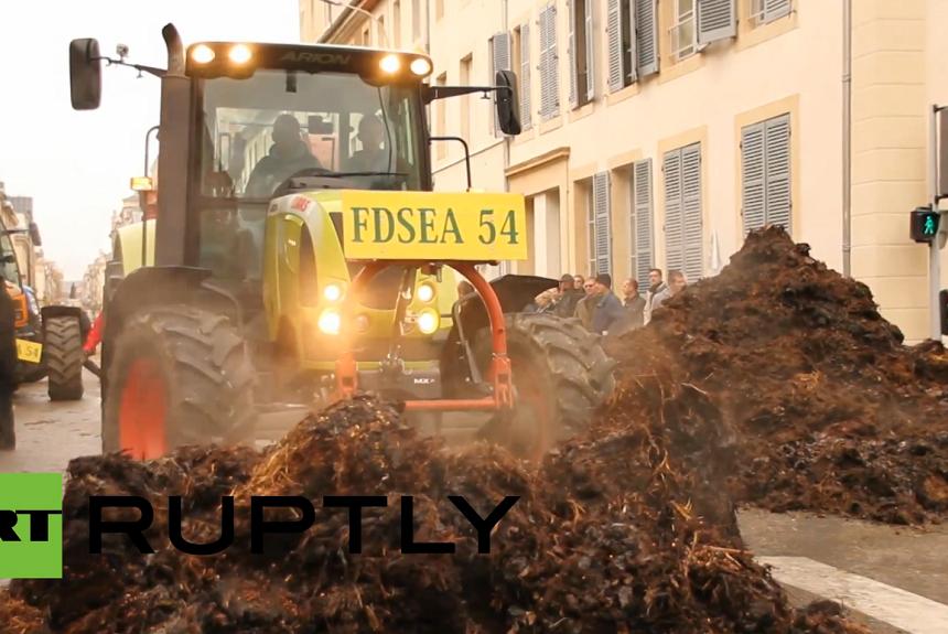 Протест на француските земјоделци