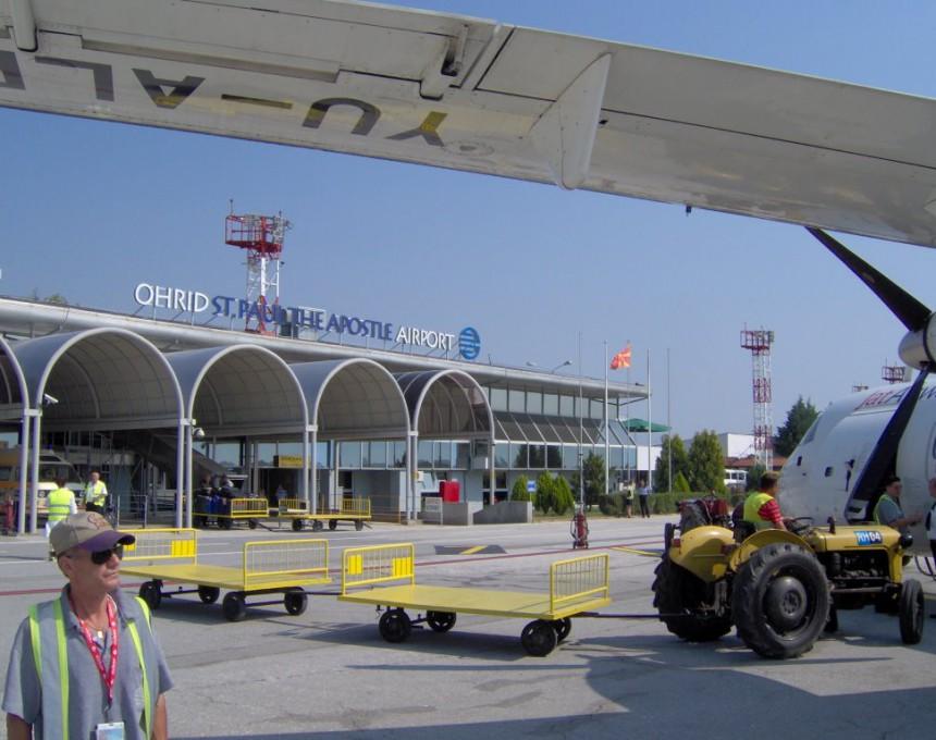 Охриски аеродром