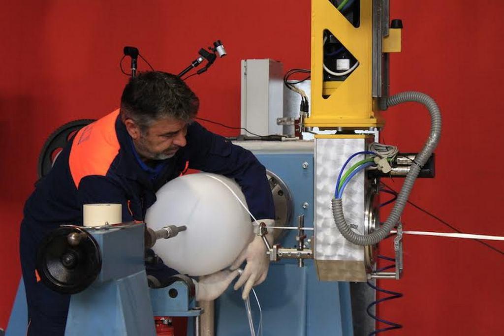 Демонстрација на најсовремените технологии за процесирање на композитни материјали и производство на композитни делови