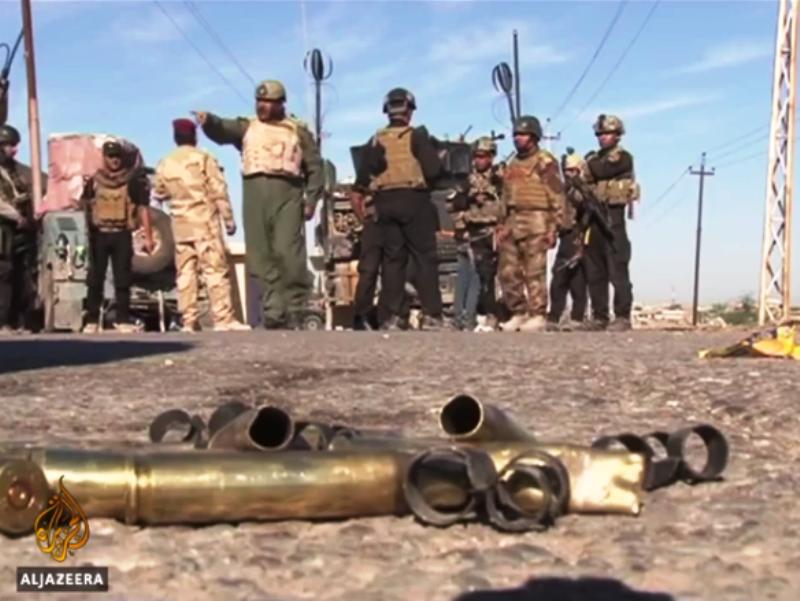 Ирачки војници во Беиџи