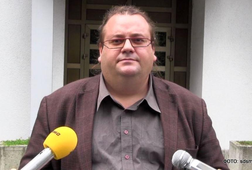 речеРоберт Алаѓозовски, претседател на Комисијата за култура на СДСМ