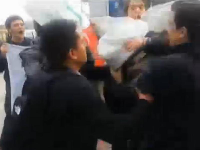 Напад на турски маринци во Истанбул