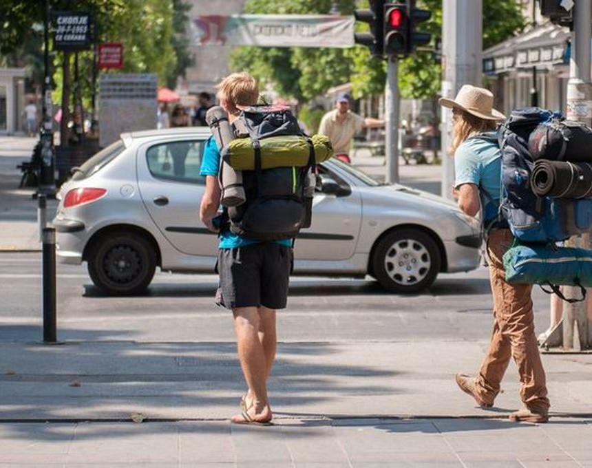 Туристи во Скопје