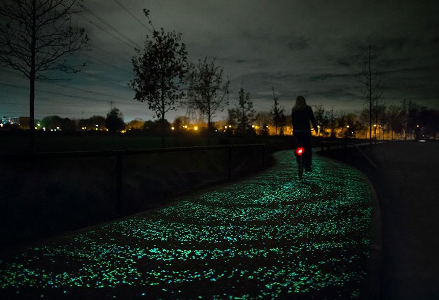 Светлечка велосипеднска патека во Дан Розегеарде