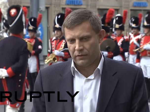 Александар Захарченко -претседател на самопрогласената Донецка Народна Република