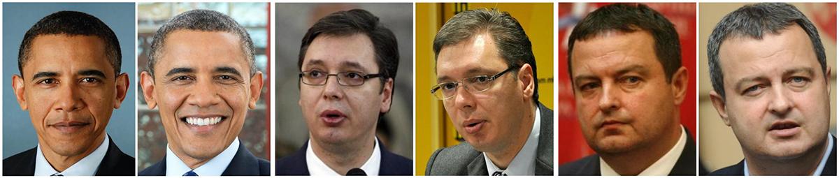 На Барак Обама Белата куќа му ја обеле косата. Александар Вучиќ го следи примерот на Груевски и не ги покажува годините. На Ивица Дачиќ песната му го одржа духот, а политиката го остаре.