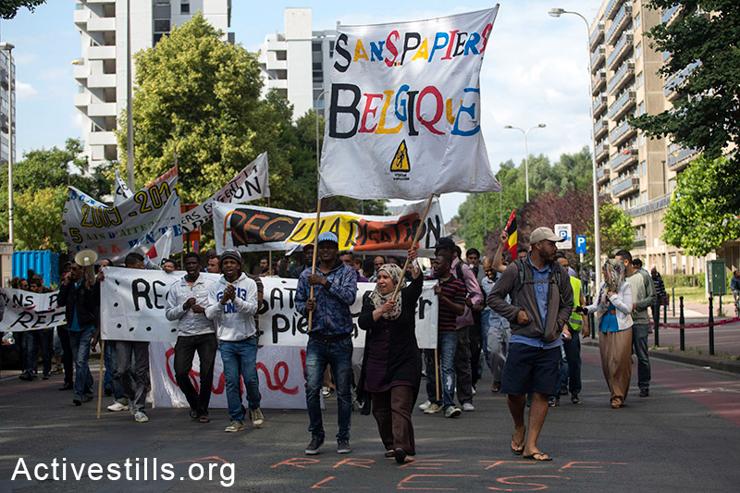 Belgjika, protest, migrim