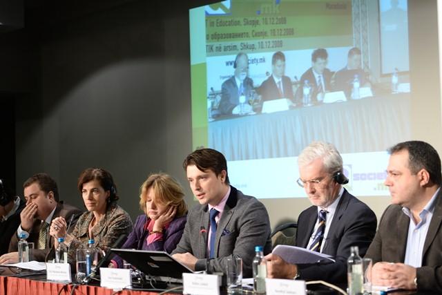 """Конференција е-Општество.мк на тема: """"Човекови права на интернет - Слобода на изразување, говор на омраза и приватност во дигиталниот свет"""""""