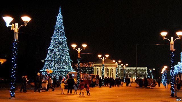 Град Скопје ќе постави новогодишна елка висока 18 метри