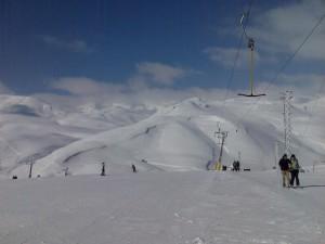 Маврово снег зима