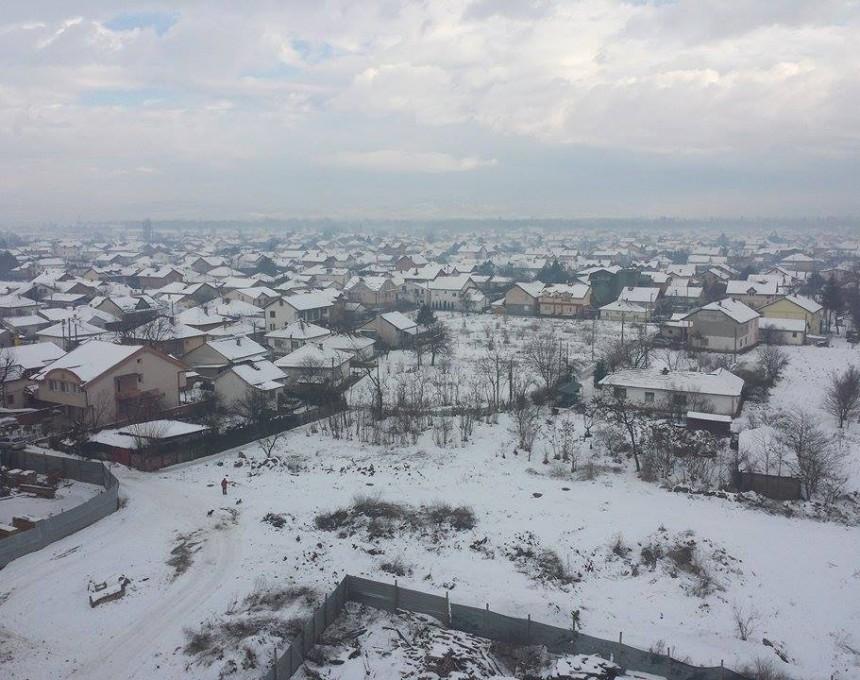 Според прогнозите на УХМР, нов снежен бран ќе ја зафати територијата на Македонија в недела попладне и понеделник