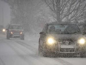снег зима автомобили