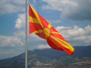 Македонија знаме