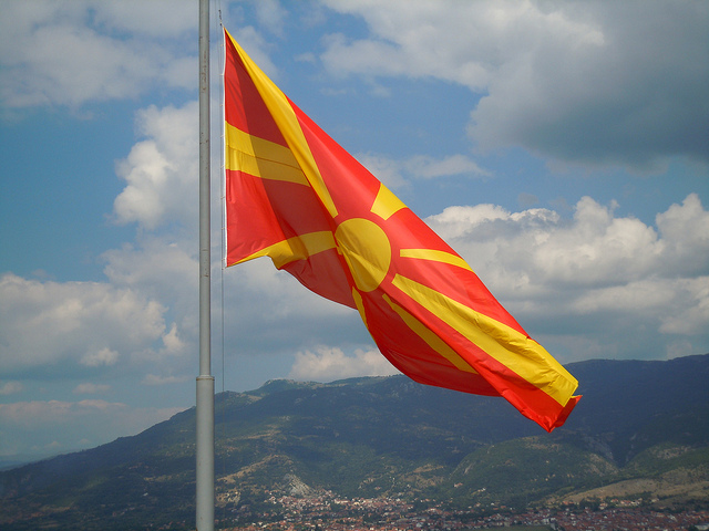 Macedonian flag bore the title of most beautiful flag  Metamk