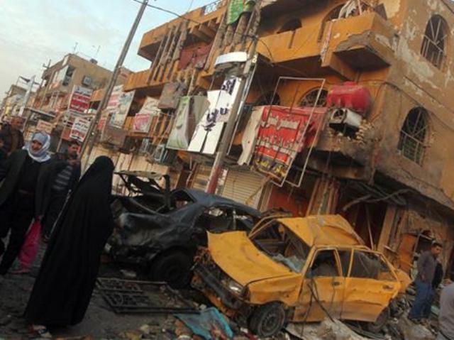 Багдад експлозија