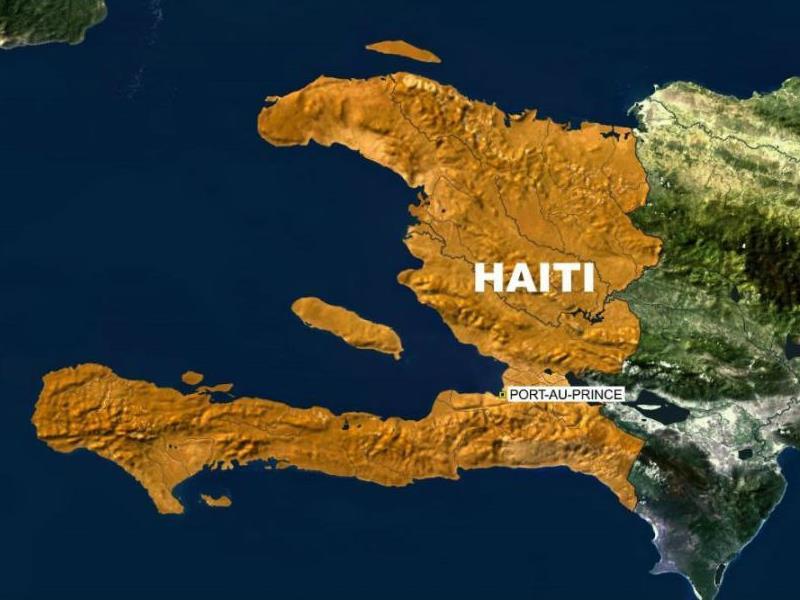 Хаити мапа