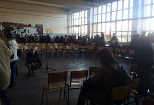 Студентите се подготвуваат за трибина