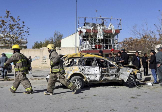 самоубиствен напад во Авганистан