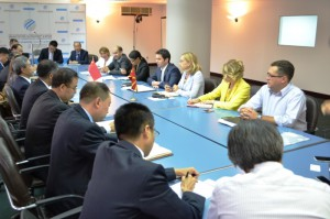 Преговори за Изградба на автопатот Миладиновце - Штип, Миле Јанакиески со кинеската градежна компанија