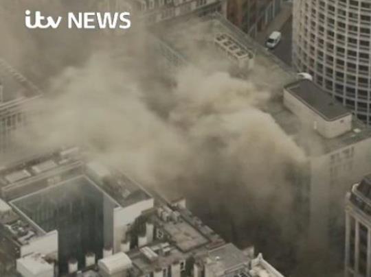 Лондон пожар