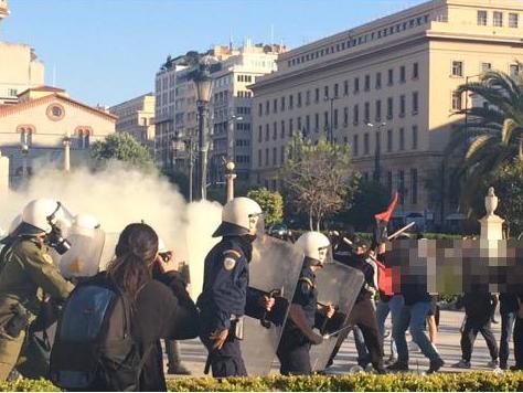 Атина анархисти протести