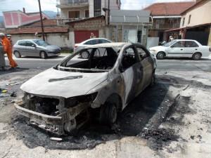 avtomobil zapalen bitola
