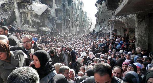 бегалци Дамаск