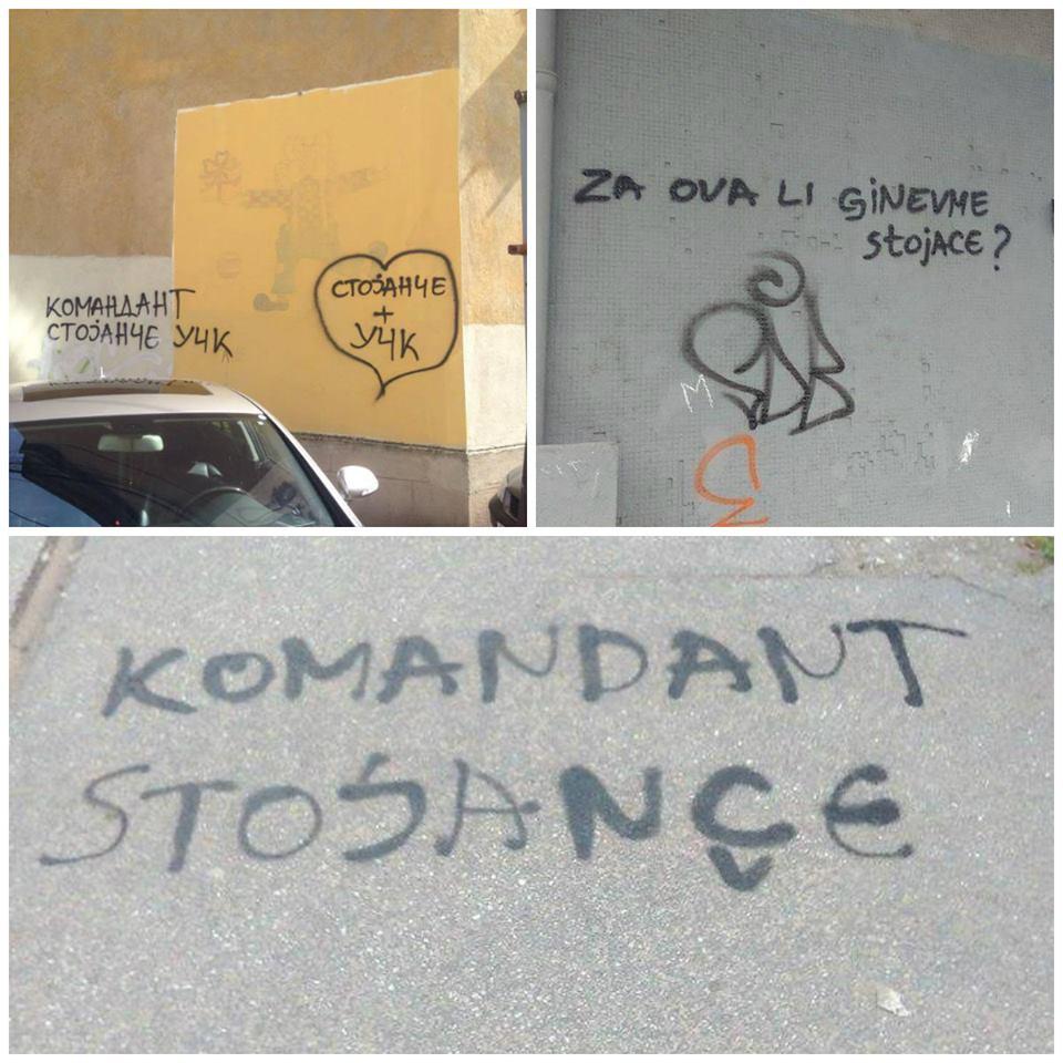 grafiti stojance kolazh