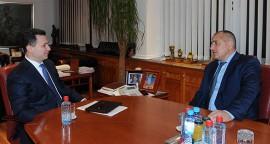 Meeting of Macedonian PM Nikola Gruevski with his Bulgarian counterpart Boyko Borisov
