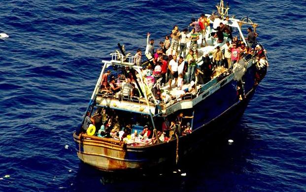 мигранти брод