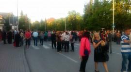 Народни собири за поддршка на полицијата