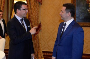 Nikola Gruevski vo Rim