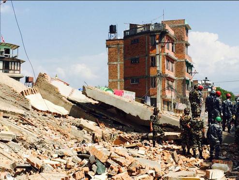 Непал земјогтрес