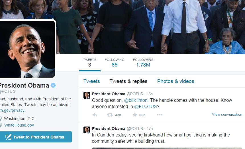 obama tviter