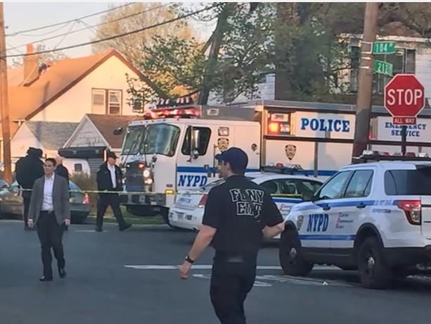 police officer shot in ny