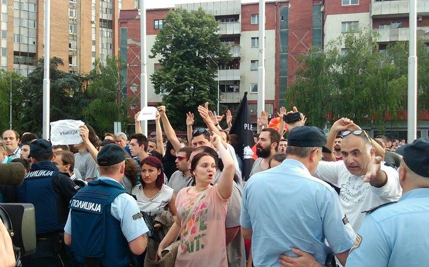 protesti neskovski, протести мартин нешковски