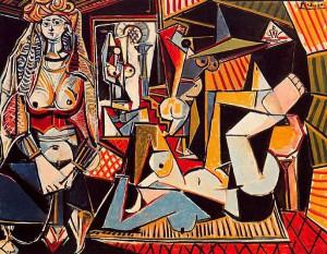 Пикасо Жените од АЛжир