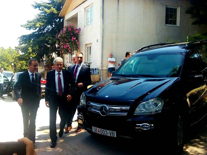 Али Ахмети Лидерска Средба