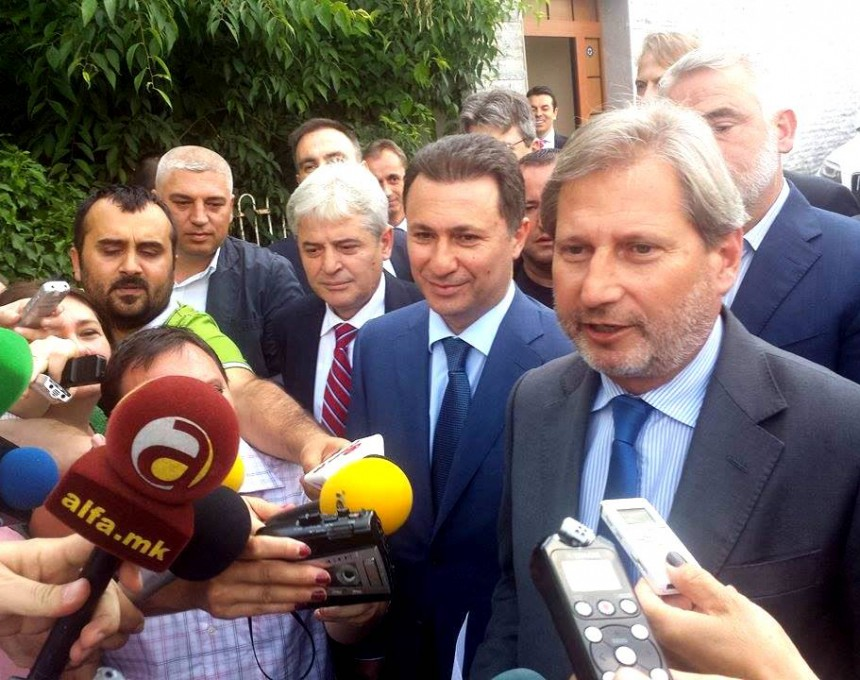 лидерска средба ЕУ резиденција, Хан, Груевски