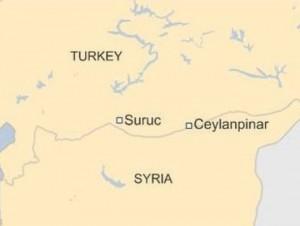 Турција Џејланпинар мапа