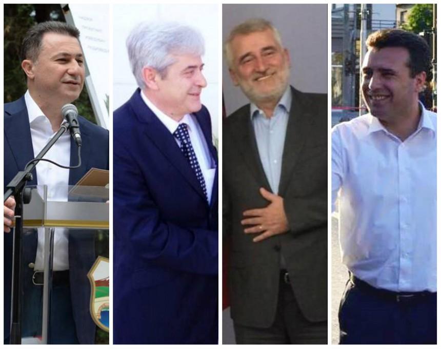 Груевски Ахмети Тачи и Заев, лидерска