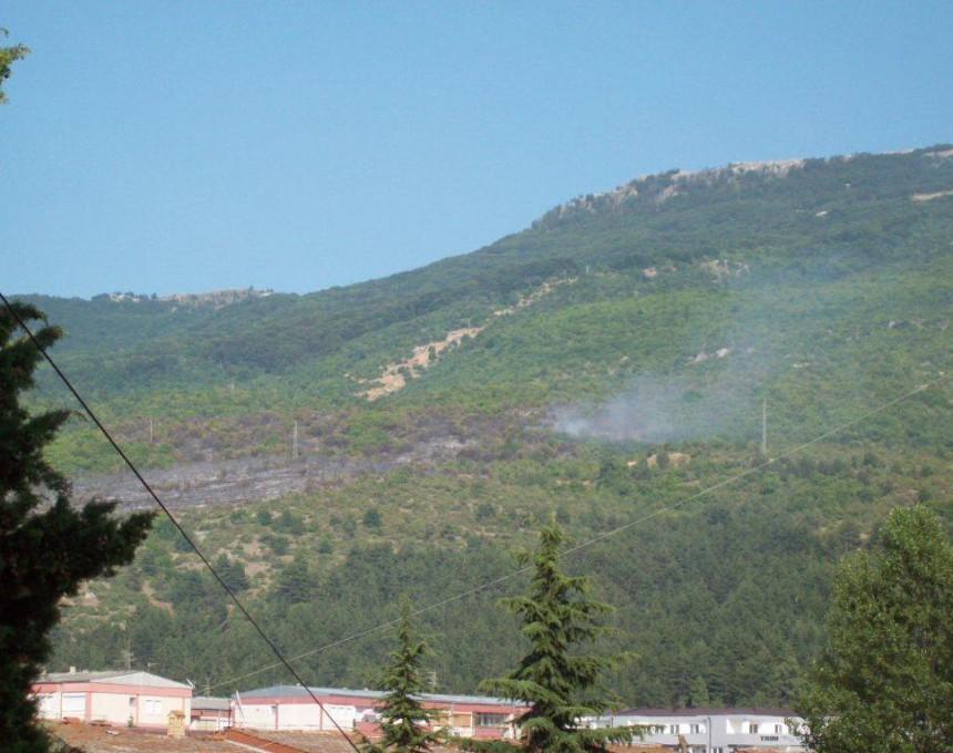 Пожар-Галичица-Охрид